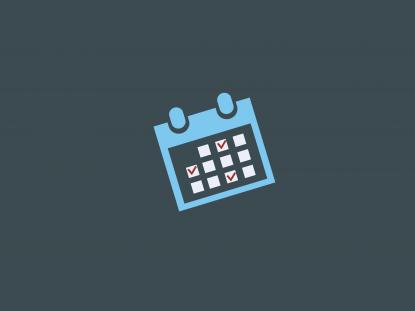 Illustration d'un calendrier